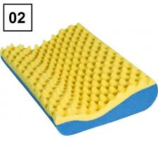 Travesseiros Cervical Comfort Luck Ortopédico Caixa de Ovo